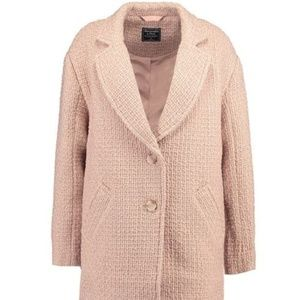 Abercrombie & Fitch Notched Ovoid Coat